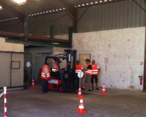 Formations et  tests CACES® Chariot élévateur catégories: 1 2 3 4 5 6